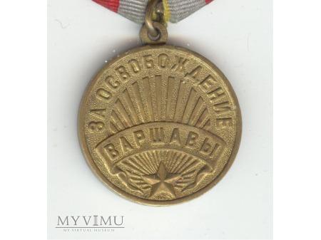 Medal za wyzwolenie Warszawy
