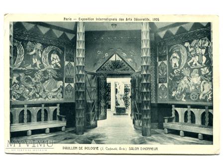 Duże zdjęcie Zofia Lubańska Stryjeńska Pawilon Polski 1925