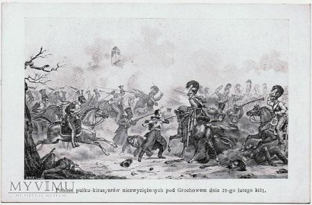 Pobicie kirasyerów pod Grochowem 25 lutego 1831.