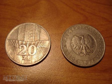 Duże zdjęcie 20 ZŁ 2 monety