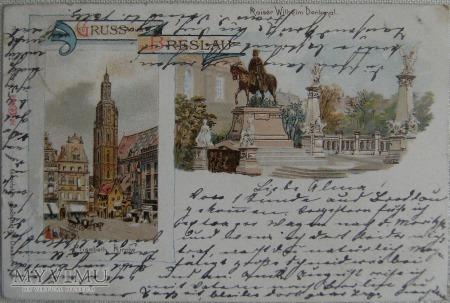 Wrocław - Breslau 7.1898 r