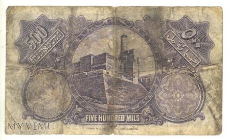 500 PALESTINE MILS 1927