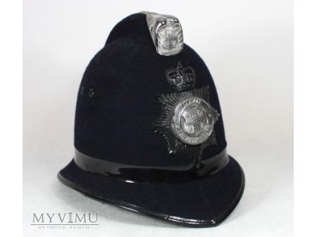 Hełm ,,Bobby'' angielskiego policjanta