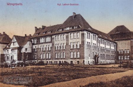 Szkoła przy ulicy Kościuszki w Wągrowcu