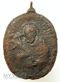 M.B. z Dzieciątkiem i św. Bernard z Clairvaux