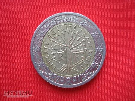 Duże zdjęcie 2 euro - Francja