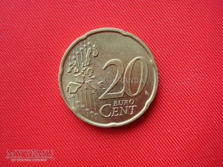 20 euro centów - Włochy
