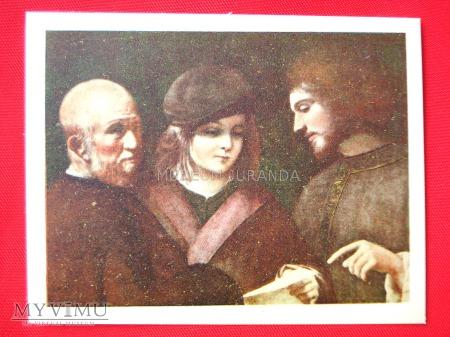 """Giorgione """"Trzy okresy w życiu człowieka"""""""