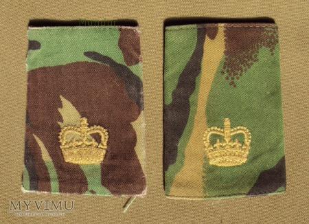 Wieka Brytania-oznaka stopnia: major