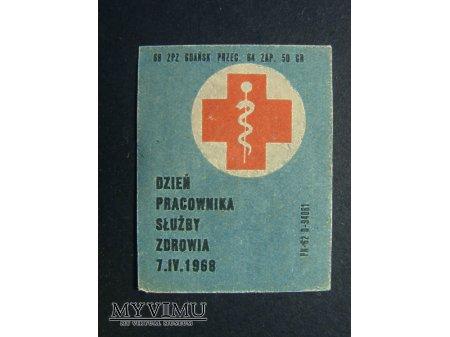 Etykieta - Dzień Pracownika Służby Zdrowia