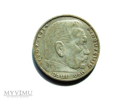 2 marki z 1937 roku.