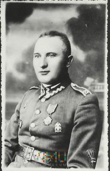 Wachmistrz Wawrzyniec Slazak z 25 Pułku Ułanów W.