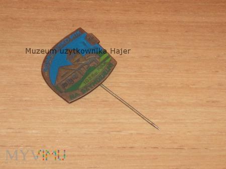 Odznaka SCHRONISKO PTTK SZYNDZIELNIA