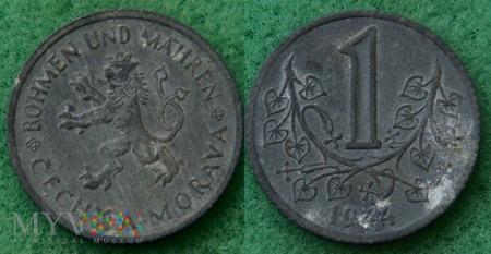 Bohemia i Moravy, 1944, 1 Koruna