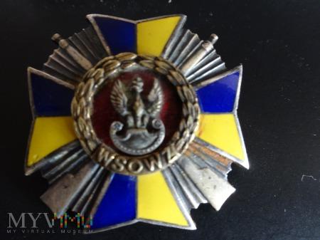 Numerowana Honorowa Odznaka WSOWZ Wrocław