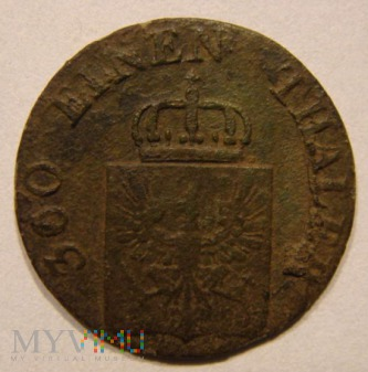 1 PFENNING 1843 A