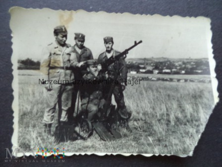 Zdjęcie żołnierzy LWP z DSzK wz. 1938