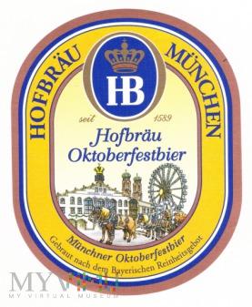 Hofbrau, oktoberfestbier