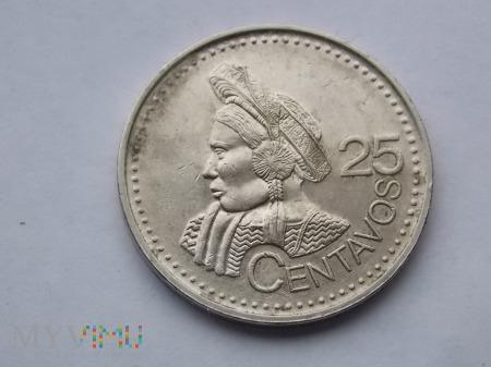 25 CENTAWOS 2000 - GWATEMALA