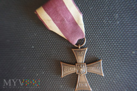 Duże zdjęcie Krzyż Walecznych - Knedler nr:25376 - lata 1920-21