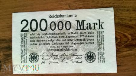 200,000 Mark 1923r.