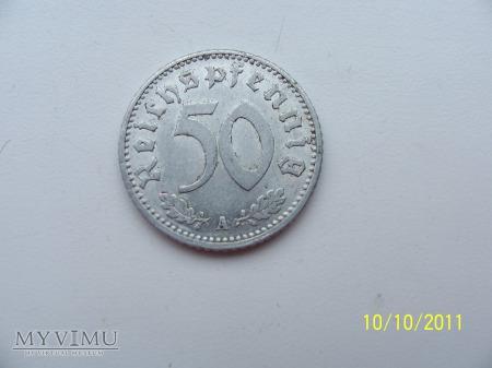 50 REICHSPFENNIG 1935 - MENNICA A - Berlin