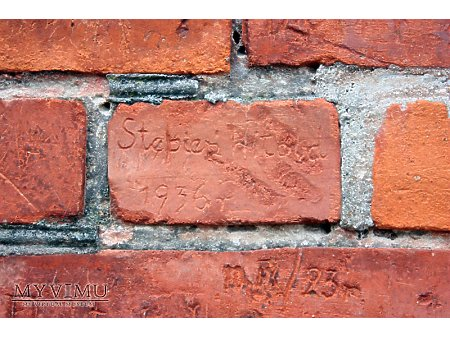 """Duże zdjęcie """"Stara Prochownia"""" - budynek A - inskrypcja #018"""