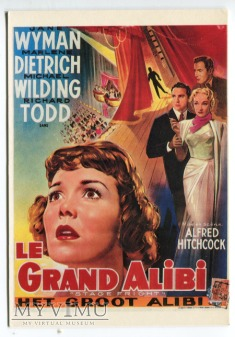 Marlene Dietrich TREMA Le Grand Alibi Hitchcock