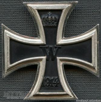 Eisernes Kreuz I.Klasse (IWŚ) niesyg.