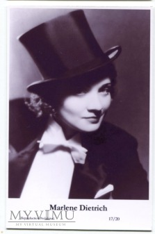 Marlene Dietrich Swiftsure Postcards 17/20