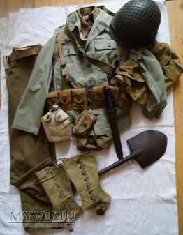 Umundurowanie i wyposażenie żoł. piechoty