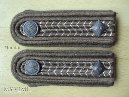 Oznaki stopnia na mundur polowy - Fähnrich
