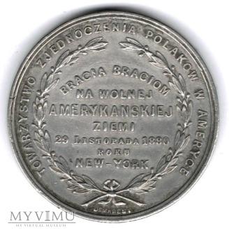 Medal - 50 rocznica Powstania, emigracja polska.