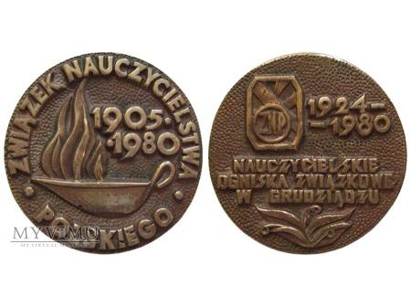 75-lecie ZNP (Grudziądz) medal 1980