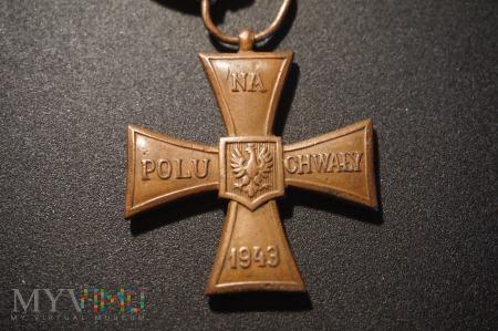 Krzyż Walecznych - Moskwa 1943 - L 1.