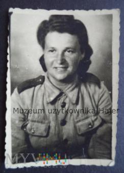 Zdjęcie kobieta żołnierz ( Żołnierka )
