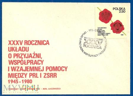 XXXV Rocznica Układu o współ.......21.4.1980