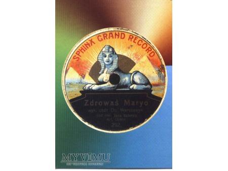 Sphinx Grand Record