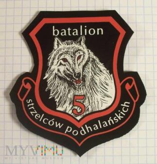 21BSP- 5 BATALION STRZELCÓW PODHALAŃSKICH