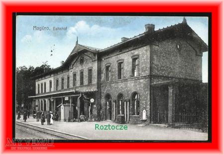 MOGILNO , Dworzec kolejowy