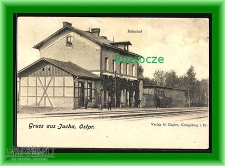 STARE JUCHY Jucha Dworzec kolejowy