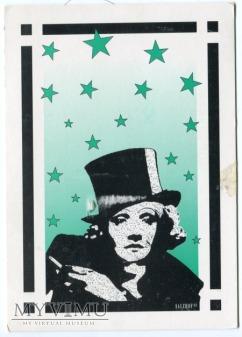 Marlene Dietrich Salzhof Pocztówka 1998 Niemcy
