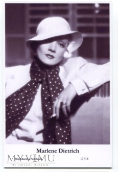 Marlene Dietrich Swiftsure Postcards 17/14