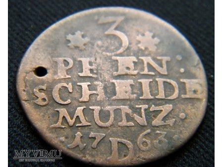 3 pfennig 1763
