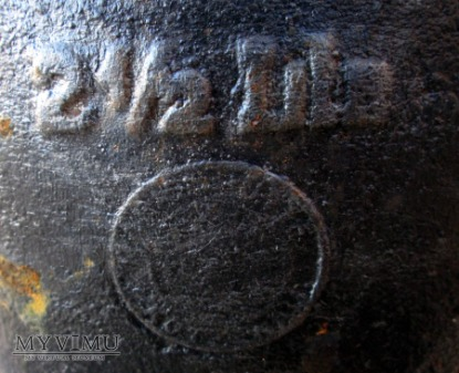 Żeliwny garnek - dzban