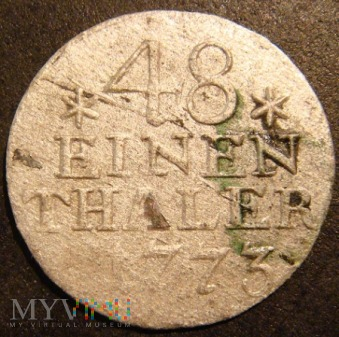 48 EINEN THALER 1773 A