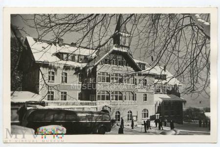 """Karkonosze - Karpacz - dom wyp. """"Przodownik"""" -1955"""