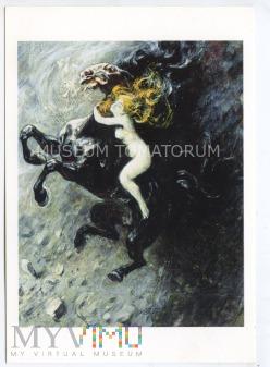 Podkowinski - Szał - Akt z koniem