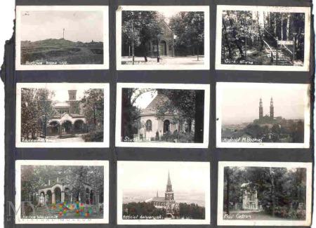 Zestaw przedwojennych fotografii z albumu
