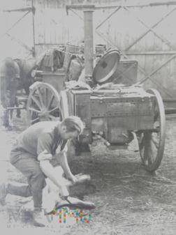 Duże zdjęcie świniobicie wrzesień 1939